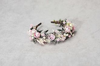 """Ozdoby do vlasov - Kvetinová čelenka """"duša rozkvitnutá"""" - 13447361_"""