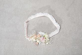 """Bielizeň/Plavky - Kvetinový podväzok """"nesmelé dotyky"""" - 13447381_"""