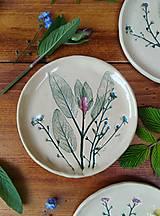 Nádoby - Dezertný tanierik Šalvia - 13447571_