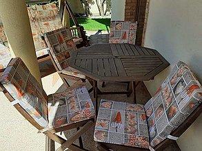 Úžitkový textil - Podsedáky na stoličky - 13445646_