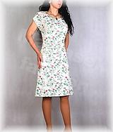 Šaty - Šaty s řasením v pase vz.666 - 13450092_