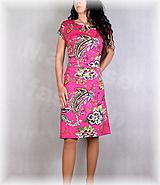Šaty - Šaty s řasením v pase vz.667 - 13450093_