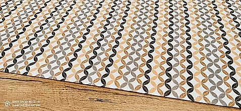 Textil - Bavlna režná - Vzor XI - cena za 10 cm - 13450411_