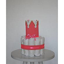 Detské doplnky - Plienková torta - 13448532_
