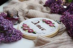 - Romantická výšivka Domov ♡ - 13449267_