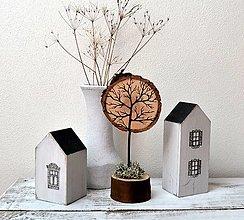 Socha - Drevená dekorácia - Strom - 13449791_