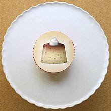 Dekorácie - Želé - grafika na koláč (kúsky čokolády) - 13450555_