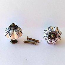Komponenty - Keramická úchytka maľovaná - 13453065_