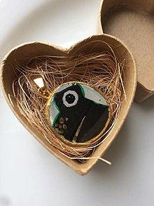 Náhrdelníky - Žabka (Prívesok, Medailón, resp. náhrdelník na zlatej retiazke) - 13451491_