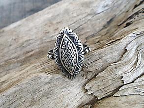 Prstene - Strieborny prsteň Ag925 Marabella - 13451585_