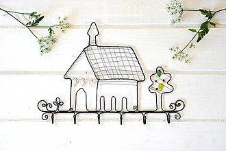Nábytok - vešiak - kostolík - 13452843_