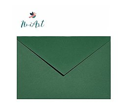 Papier - Obálka zelené les C6 - 13454013_