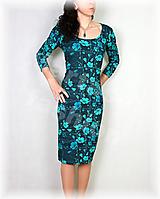 Šaty - Šaty vz.511b i krátký rukáv - 13453584_