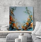 Obrazy - ŠÍPKOVÝ LES- INKS-9, 50x50 - 13455280_