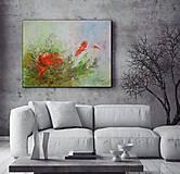 Obrazy - Kvet a motýľ 80x60 - 13455604_