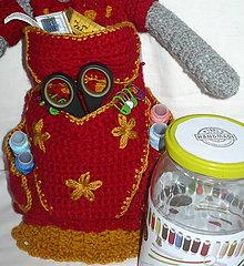 Bábiky - Bábika na šijacie potreby, - 13454801_
