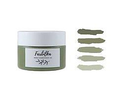 Farby-laky - Farbilka 100ml - vojenská zelená - 13454643_