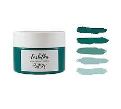 Farby-laky - Farbilka 100ml - smaragdová - 13454645_
