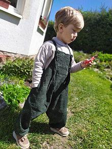 Detské oblečenie - Detské pudlové nohavice - 13453633_