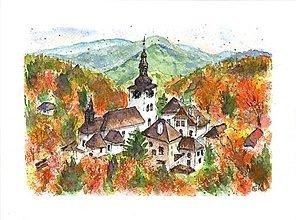Obrazy - Špania dolina - 13457642_