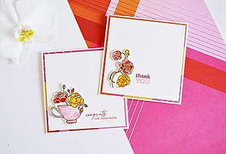 Papiernictvo - Gratulačný pozdrav - kvety - 13456224_