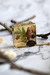 Náhrdelníky - Náhrdelník V borovicovom lese medový 3055 A CHO - 13457231_
