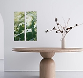 Obrazy - Green 60x20-2x - 13457210_