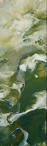 Obrazy - Green 60x20-2x - 13457211_