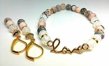 Sady šperkov - Zamilovaná súpravička 1. - 13457093_