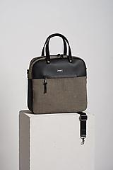 Veľké tašky - Daily Leyla leather - 13456279_