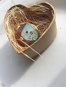 Náhrdelníky - Vtáčik (Medailónik, Prívesok) - 13457339_