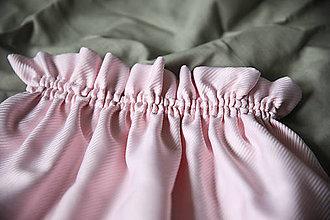 Detské oblečenie - Ružová dievčenská suknička (veľ.122) - 13456566_