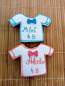 Dekorácie - tričká farebné - pre detičky - 13456468_