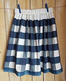 Detské oblečenie - Károvaná sukňa  - 13457293_