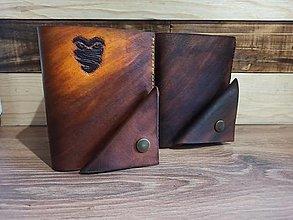 Peňaženky - Kožená peňaženka - 13457167_