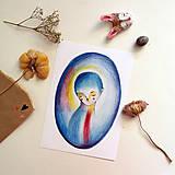 Grafika - Blue mood/ print - 13458561_