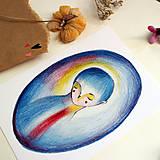 Grafika - Blue mood/ print - 13458562_
