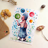 Kresby - Svet môj v pozore/ print - 13458567_