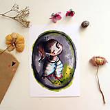 Grafika - Ticho budem/ print - 13458584_