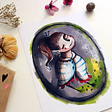 Grafika - Ticho budem/ print - 13458585_