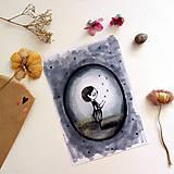Kresby - Malý príď/ print - 13458611_