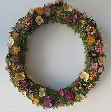 """Dekorácie - Kvetinový veniec """"Judy"""" - 13458671_"""