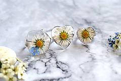 Prstene - Prsteň Sedmokráska srdce 3058 B CHO - 13457982_