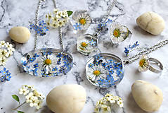 Prstene - Prsteň Sedmokráska srdce 3058 B CHO - 13457983_