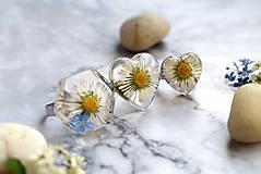 Prstene - Prsteň Sedmokráska srdce 3058 B CHO - 13457984_