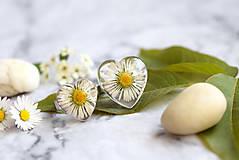 Prstene - Prsteň Sedmokráska srdce 3058 B CHO - 13457985_