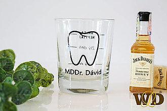 Nádoby - Pohár na whisky - 13458245_