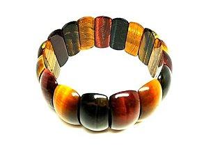Náramky - Luxusný náramok z tigrieho oka - 13458479_