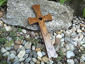 Dekorácie - Krížik 32 - 13459252_