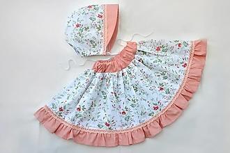Detské oblečenie - Letný set lúčne kvety - 13460077_
